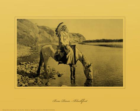 Bow River, Blackfoot Masterprint