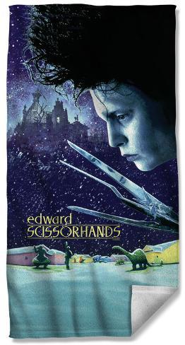 Edward Scissorhands - Movie Poster Beach Towel Beach Towel