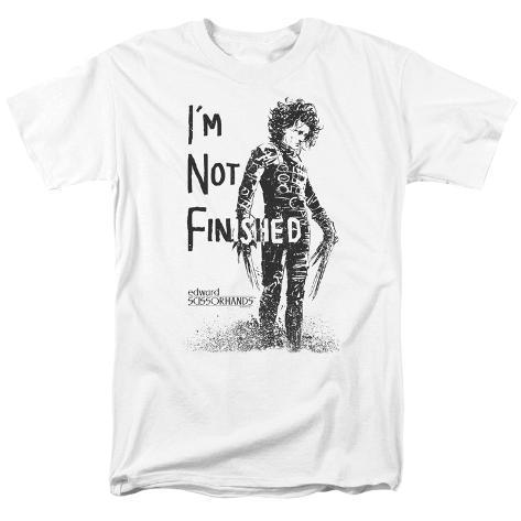 Edward Scissorhands- Not Finished T-Shirt