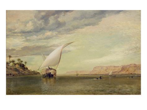 On the Nile Giclee Print