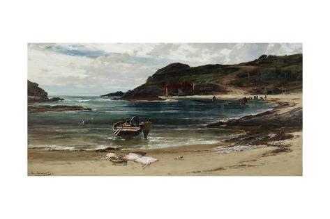 The Haven under the Hill (Anglesey), 1885-95 Giclee Print