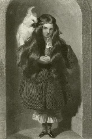 The Lady Blanche Egerton Lámina giclée