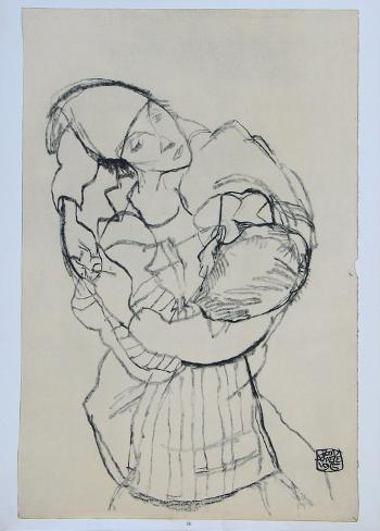 Embracement, 1915 Collectable Print
