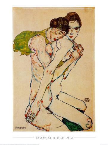 Freundschaft, 1912 Art Print