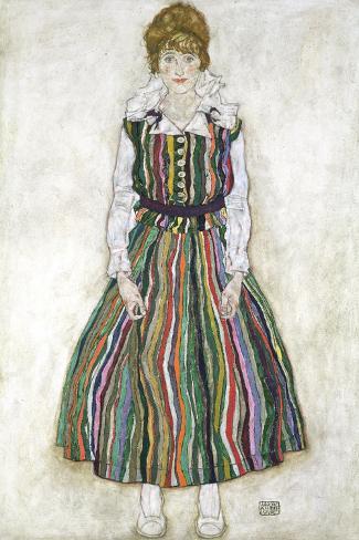 Portrait of Edith Schiele, the Artist's Wife, 1915 Lámina giclée