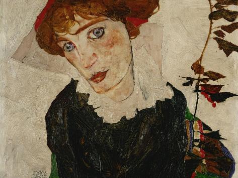 Portrait of Wally, 1912 Giclee Print
