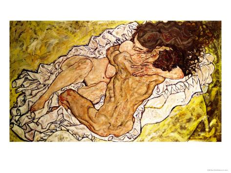 The Embrace, 1917 Giclee Print