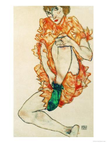 The Green Stocking, 1914 Giclee Print