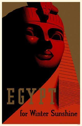 Egypt for Winter Sunshine Masterprint