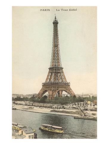 Eiffel Tower, Paris Art Print