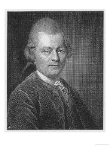 Gotthold Ephraim Lessing German Dramatist and Critic Giclee Print