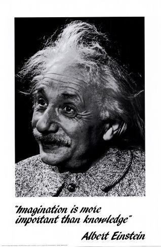 Einstein: Imagination Poster
