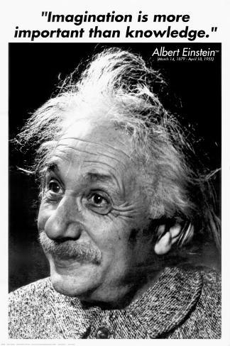 Einstein - Imagination Poster