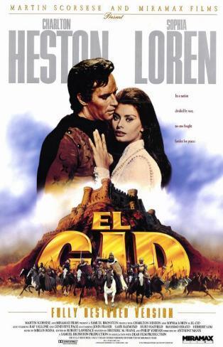 El Cid, 1961 Masterprint