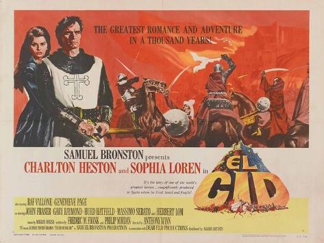 El Cid, 1961 Poster