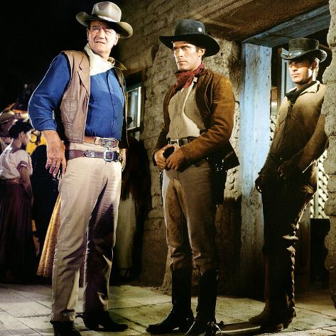 El Dorado, John Wayne, Christopher George, James Caan, 1967 Photo