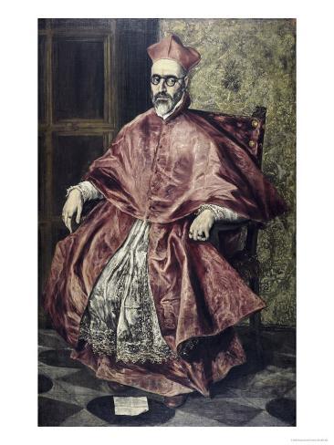 Cardinal Nino de Guevara Giclee Print