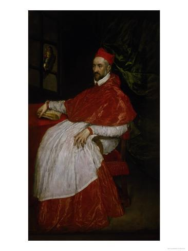 Charles de Guise, Cardinal of Lorraine Giclee Print