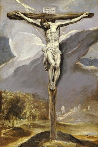 Christ on the Cross Lámina giclée
