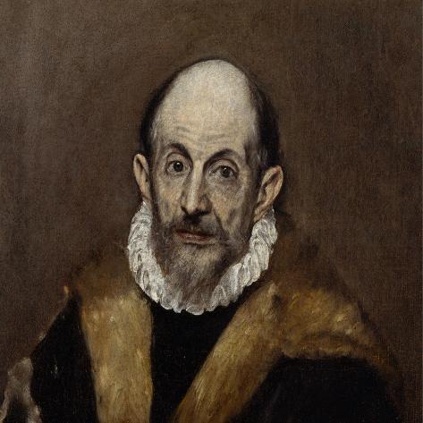Portrait of an Old Man, c.1590–1600 Lámina giclée