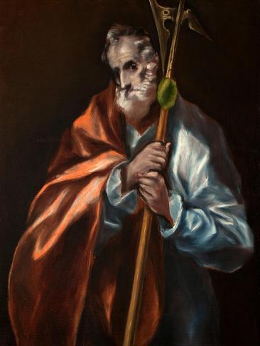 Saint Jude the Apostle Lámina giclée