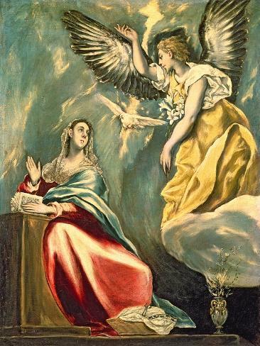 The Annunciation Giclee Print