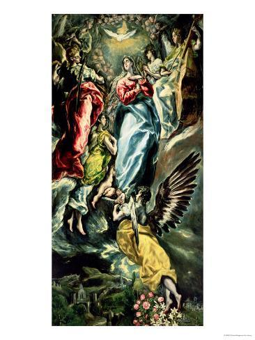 The Assumption of the Virgin Giclee Print