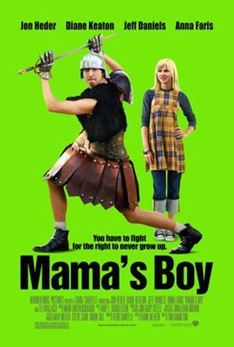 El hijo de mamá|Mama's Boy Póster de dos caras