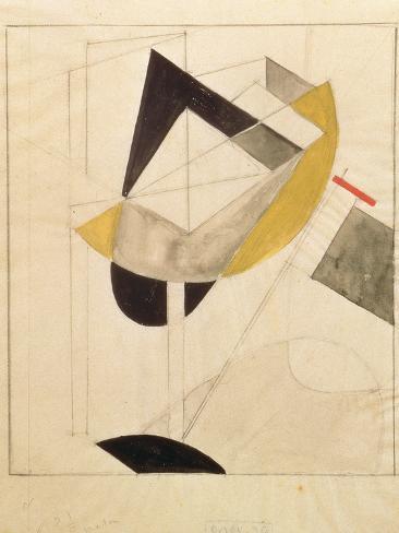 Proun 19, 1920 Lámina giclée