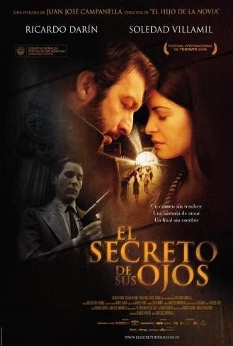 El Secreto de sus Ojos - Spanish Style Poster