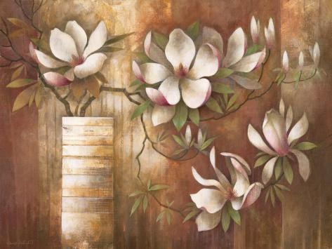 Southern Magnolias Art Print