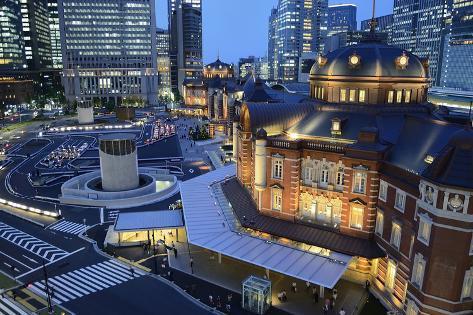 Tokyo Station Photographic Print