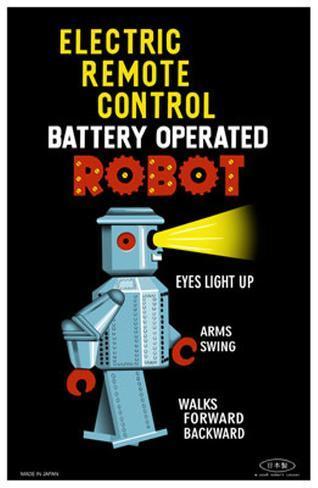 Electric Remote Control Robot Masterprint