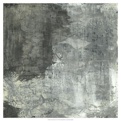 Gray Abstract II Art Print