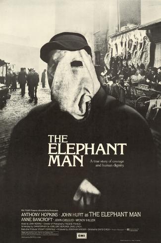 Elephant Man (The) Art Print