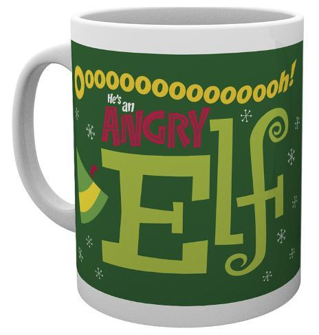 Elf - Angry Elf - Christmas Mug Tazza