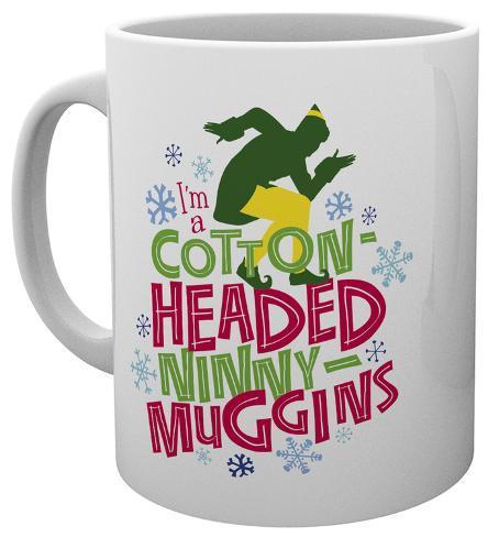 Elf - Ninny Muggins Christmas Mug Tazza