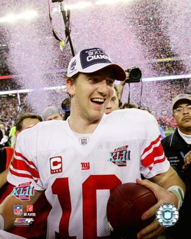 Eli Manning - Super Bowl XLII Photo