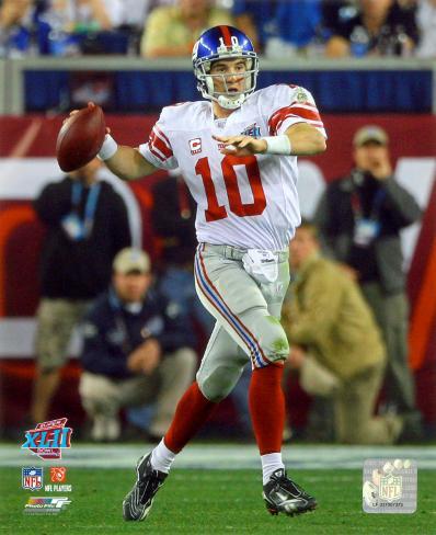 Eli Manning - Super Bowl XLII Photo