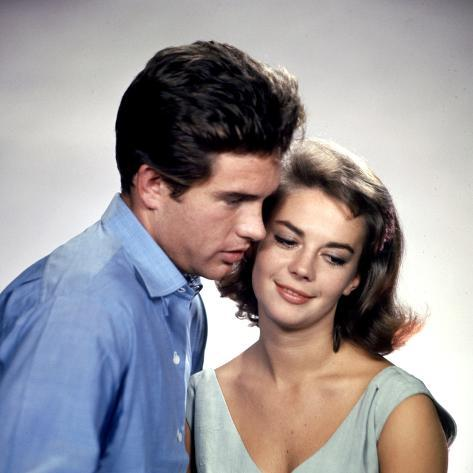 American Actors Warren Beatty and Natalie Wood in their Film 'Splendor in the Grass', 1961 Photographic Print
