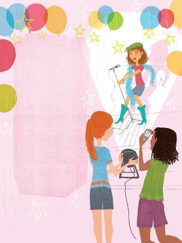 Slumber Party Secrets - Jack & Jill Giclee Print