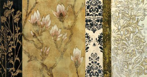 Garden Brocade I Art Print
