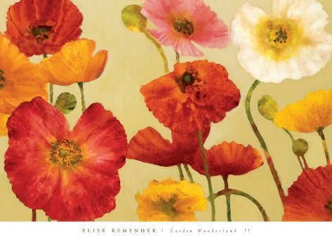 Garden Wonderland II Art Print