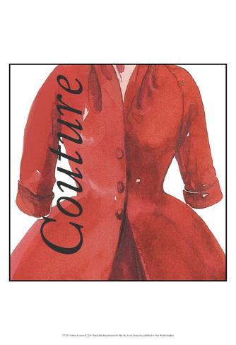 Fashion Couture Art Print