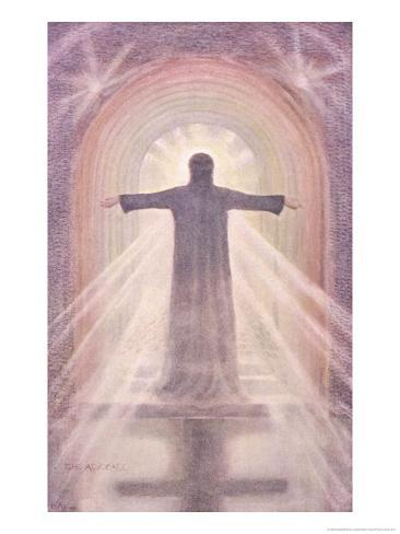 Jesus Depicted as the Advocate Giclee Print