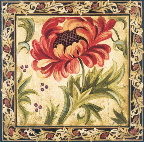 Floral Daydream II Art Print