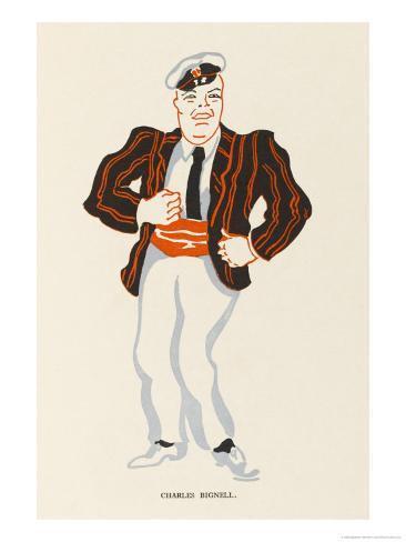 Charles Bignell Music Hall Entertainer Giclee Print