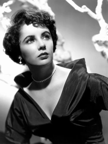 Elizabeth Taylor, 1950 Photo