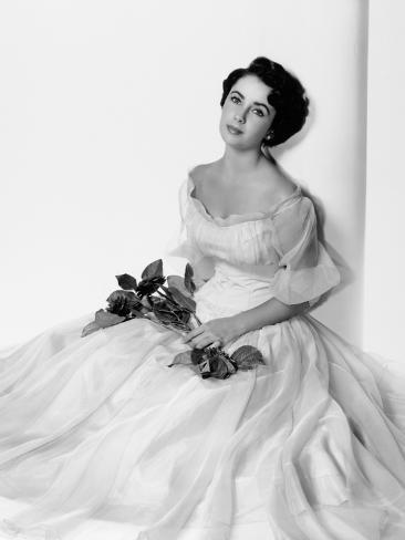 Elizabeth Taylor Photographic Print
