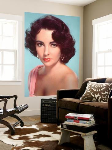 Elizabeth Taylor Giant Art Print
